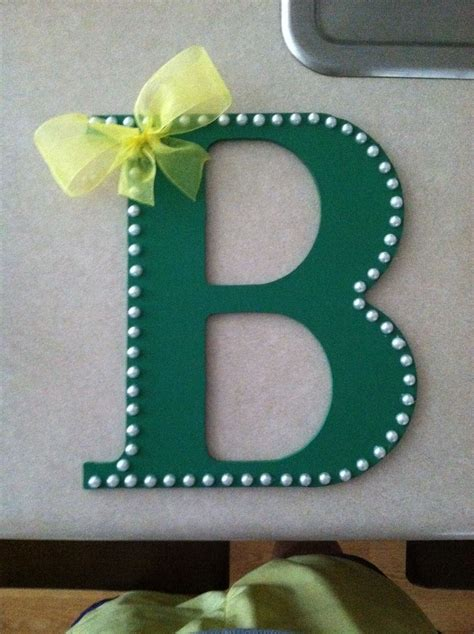 Diy Painting Wood Letters