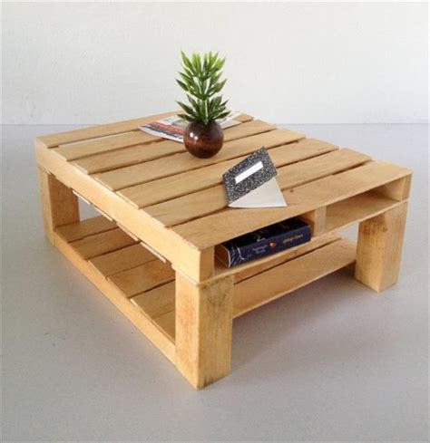 Diy Pallet Coffee Table Plans
