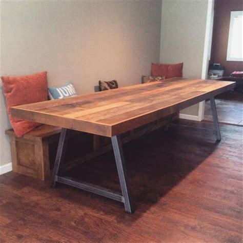 Diy Pallet Conference Table