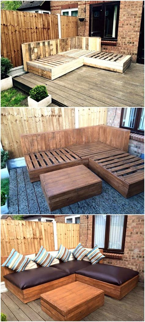 Diy Pallet Couch Outdoor Video