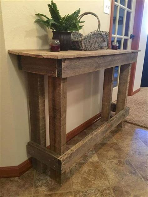 Diy Pallet Couch Table