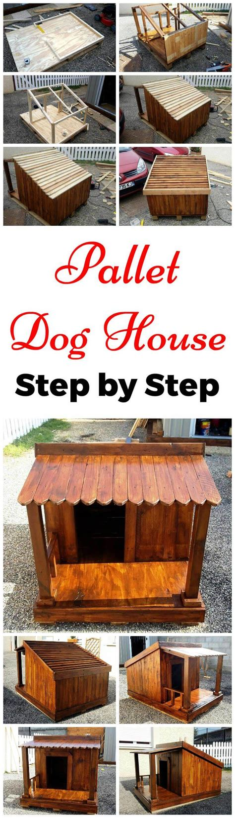 Diy Pallet Dog House Step By Step Instructions