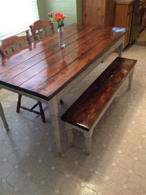 Diy Pallet Farm Table