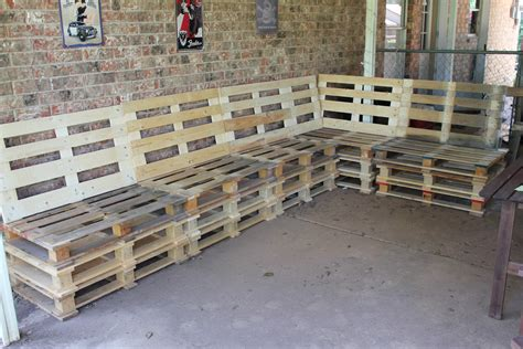 Diy Pallet Outdoor Furniture Instructions