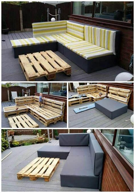 Diy Pallet Sectional Plans