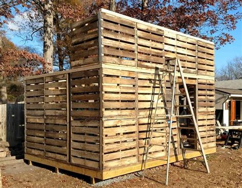 Diy Pallet Shed Design