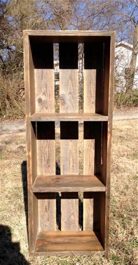 Diy Pallet Shelf Plans