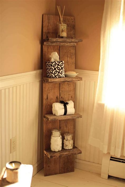 Diy Pallet Shelf Projects