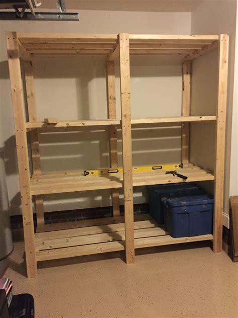 Diy Pallet Shelves For Garage
