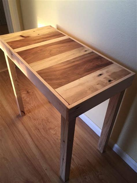 Diy Pallet Side Table Instructions