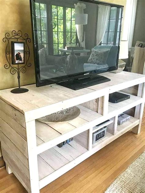 Diy Pallet Tv Rack Cabinet