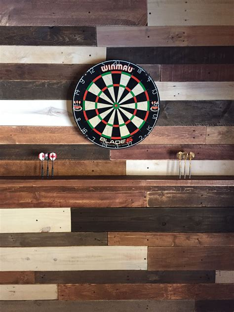 Diy Pallet Wall Dart Board