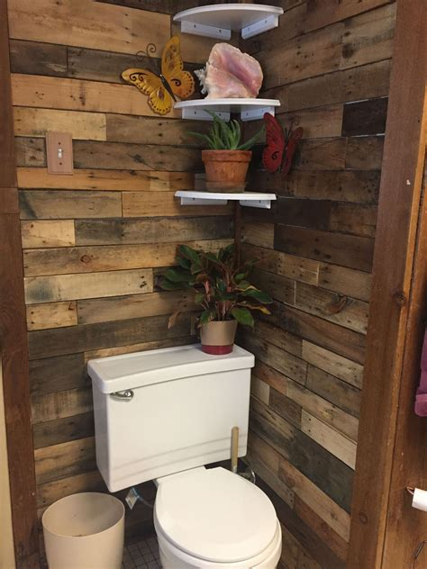 Diy Pallet Wood Ideas For Bathroom
