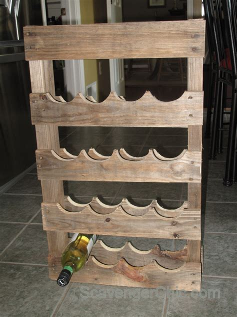 Diy Pallet Wood Wine Racks