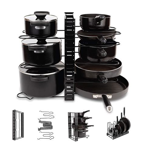 Diy Pan Organizer Rack For Cabinet