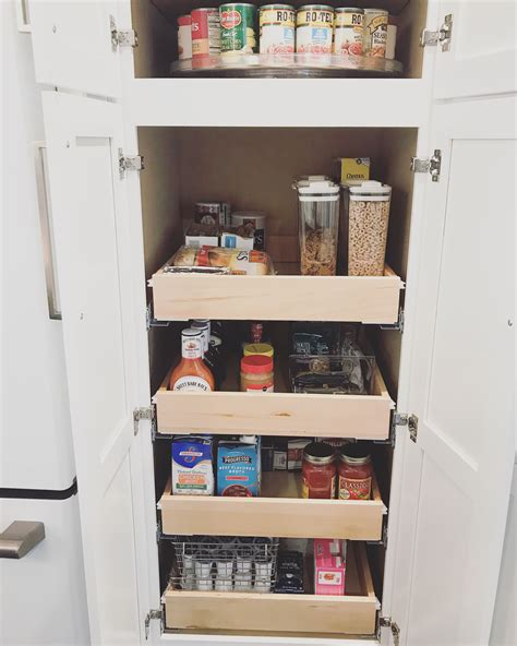 Diy Pantry Cabinet And Drawers