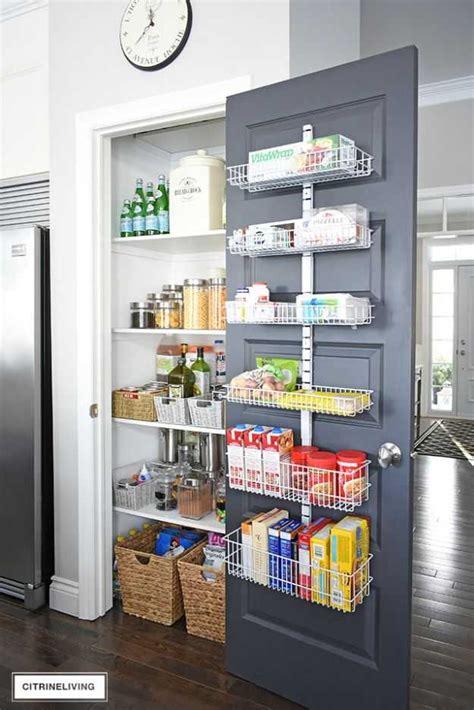 Diy Pantry Door Storage Ideas