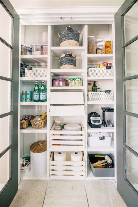 Diy Pantry Shelves And Storage