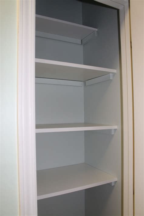 Diy Pantry Shelves Closet