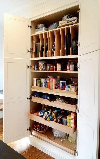 Diy Pantry Shelves For Cooking Sheets