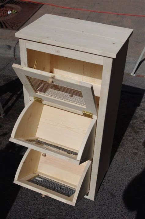 Diy Pantry Storage For Potatoes Onion Bins