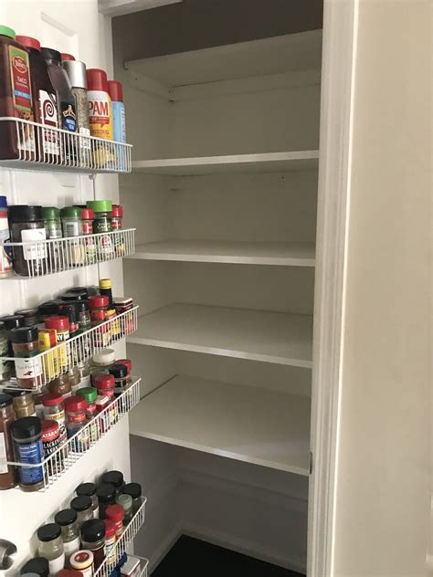 Diy Pantry Storage Shelf