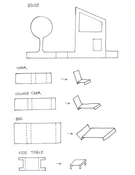 Diy Paper Dollhouse Templates