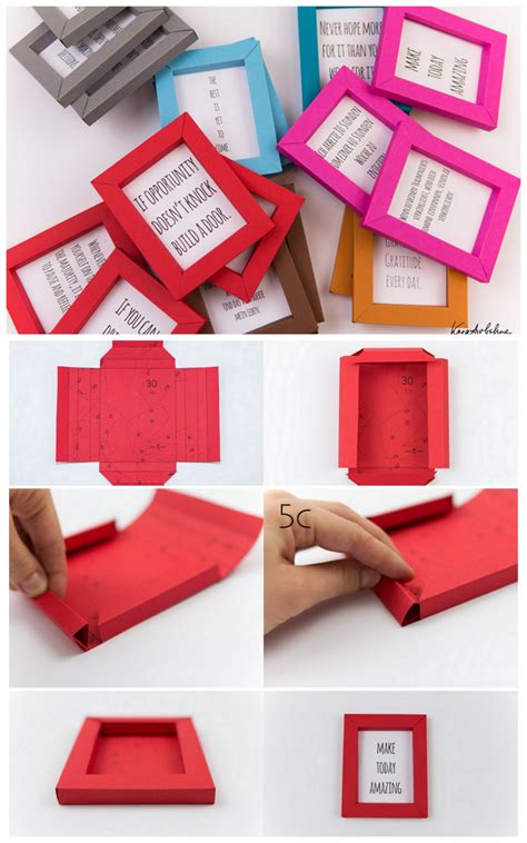 Diy Paper Frame Pinterest Stock