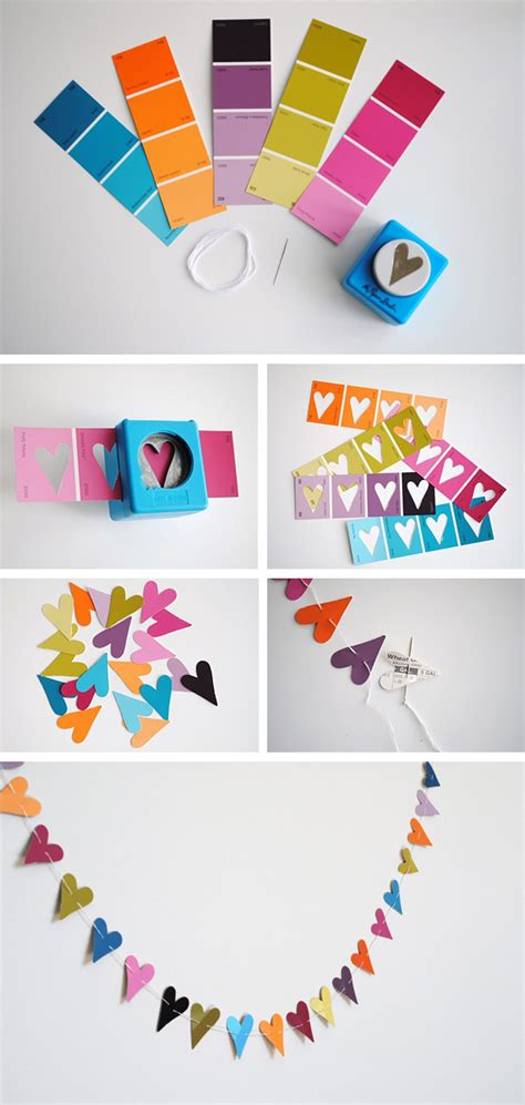 Diy Paper Punch Garland