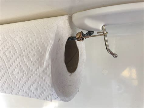 Diy Paper Towel Holder With Command Hooks