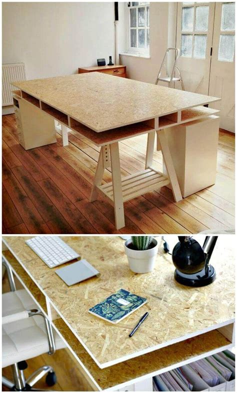 Diy Particle Board Desk