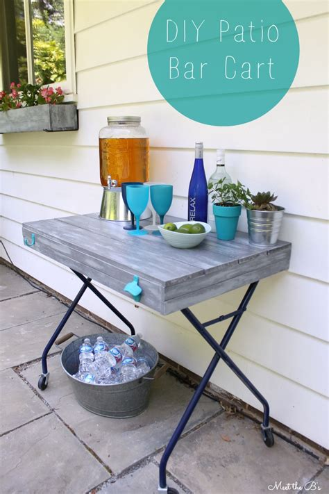 Diy Patio Bar Cart