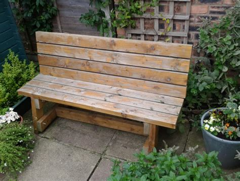 Diy Patio Bench With Planters