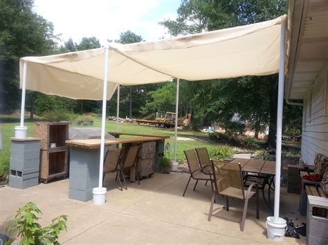 Diy Patio Canopy With Pvc Pipe
