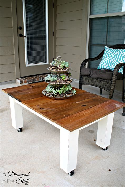 Diy Patio Coffee Table Pics