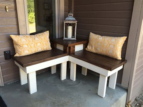 Diy Patio Corner Bench