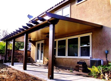 Diy Patio Cover Construction Using