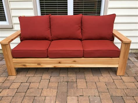 Diy Patio Loveseat