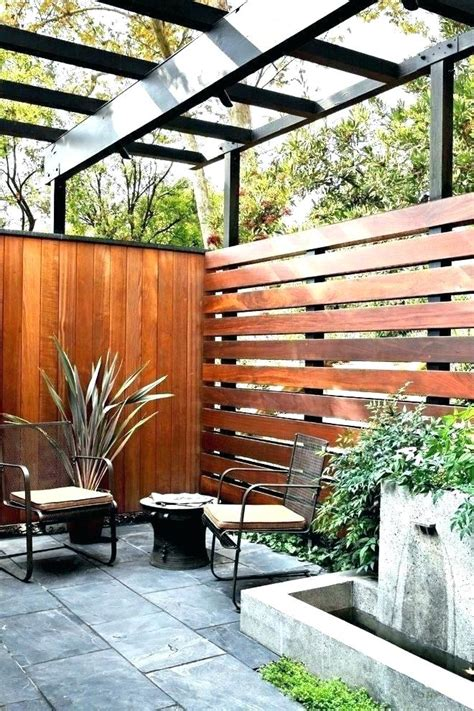 Diy Patio Privacy Wood Slats