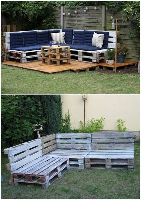 Diy Patio Set Made From Pallets