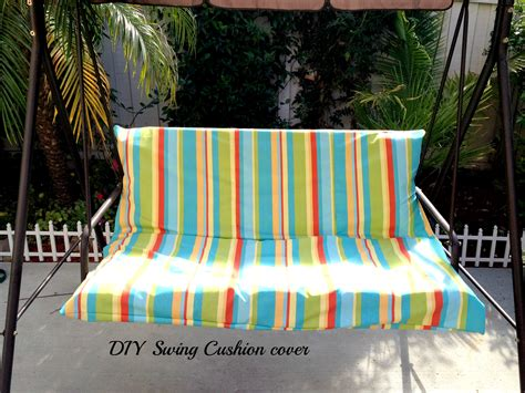 Diy Patio Swing Cushion Cover