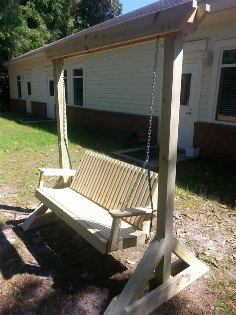 Diy Patio Swing Frames