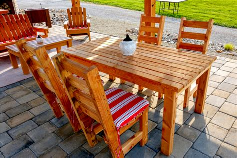 Diy Patio Table Chairs