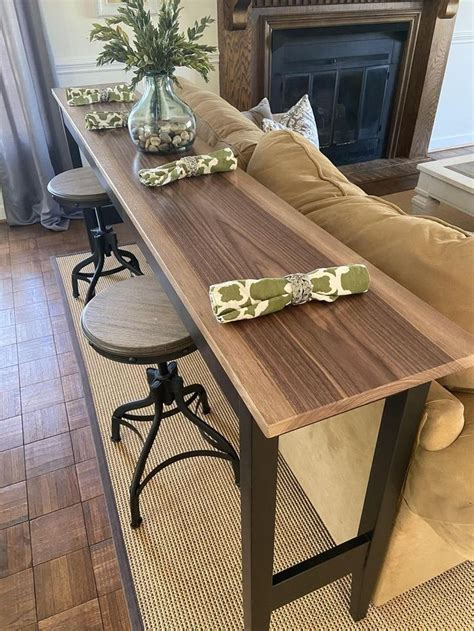 Diy Patio Table Makeover For Behind Sofa