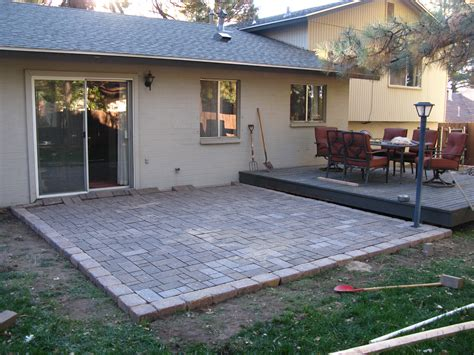 Diy Pavers On Cement Slab