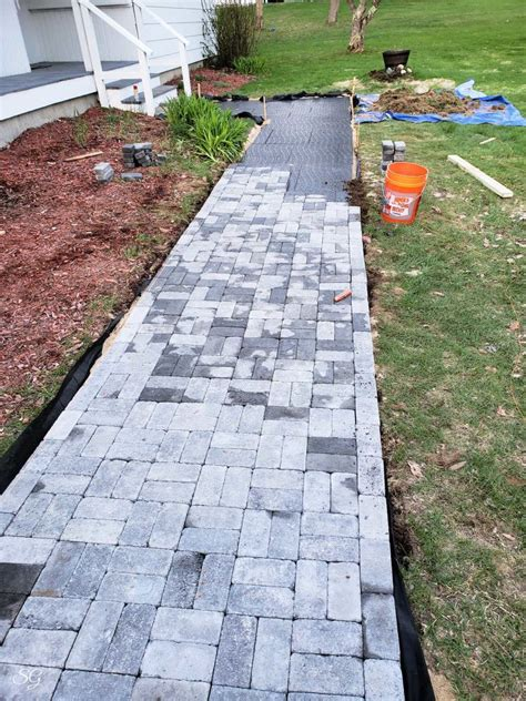 Diy Pavers Path Walkway