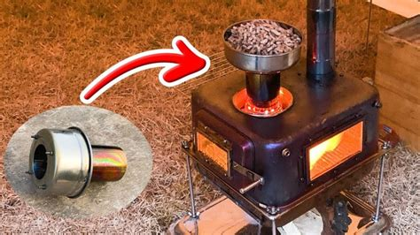 Diy Pellet Burner For Wood Stove