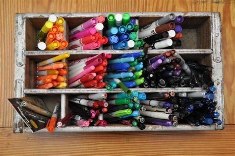 Diy Pen And Marker Organizer
