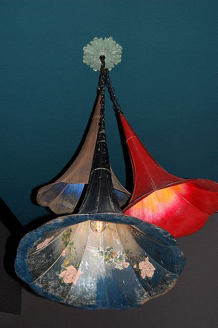 Diy Pendant Light From Gramophone Horn