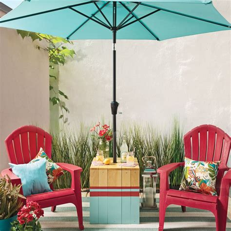 Diy Peninsula Table Support Parasol